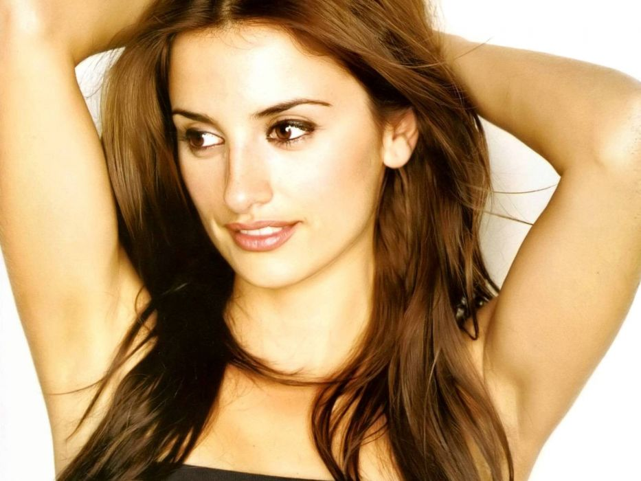 brunettes women actress Penelope Cruz celebrity wallpaper