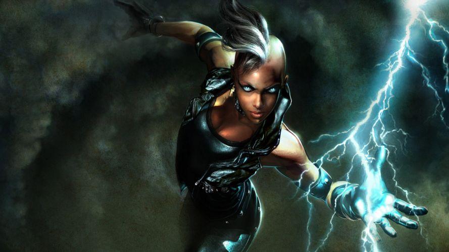 video games games Marvel: Ultimate Alliance Storm (comics character) wallpaper