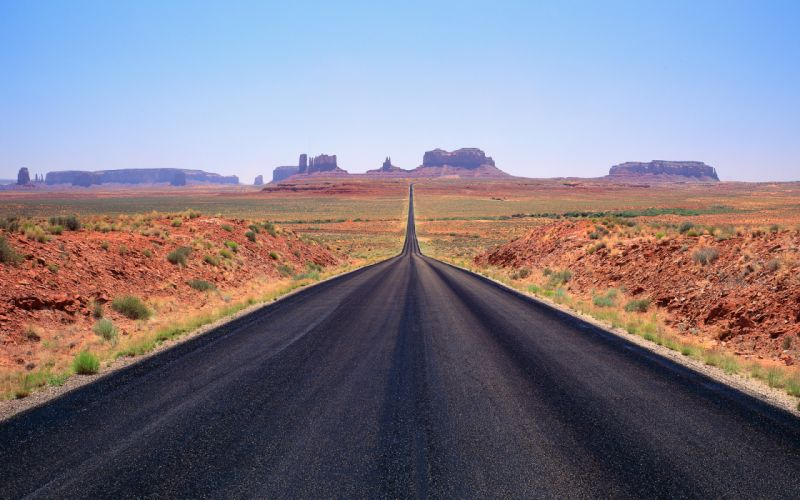landscapes deserts roads wallpaper