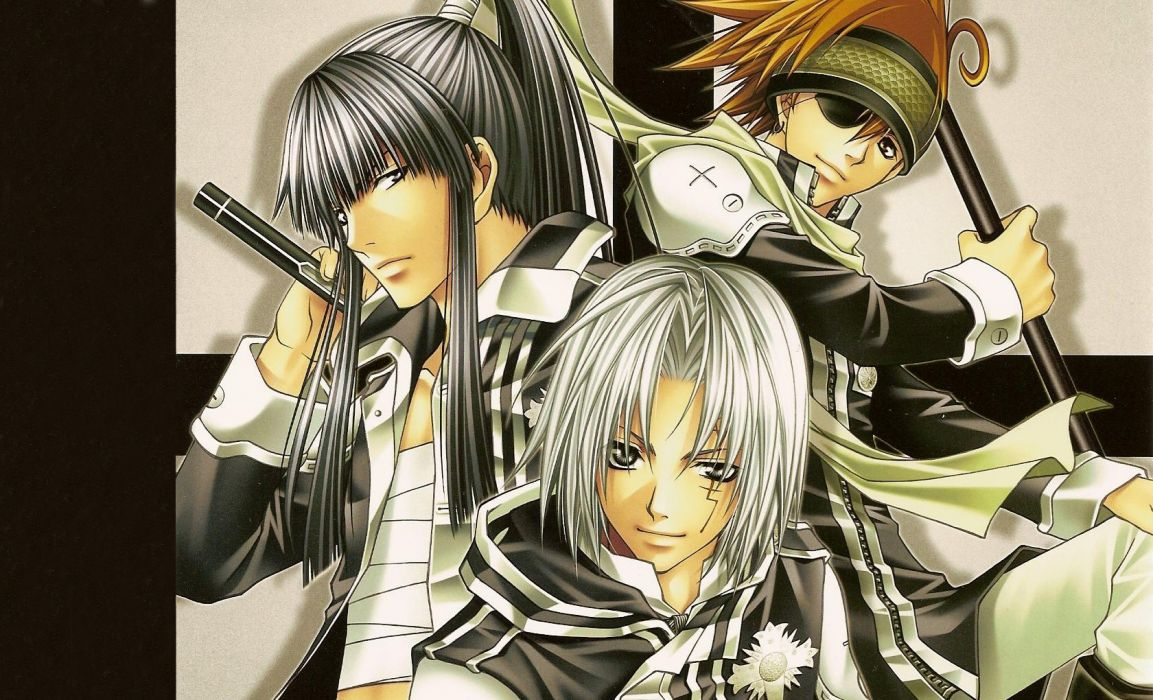 black groups anime D_Gray-man Allen Walker kanda yuu wallpaper