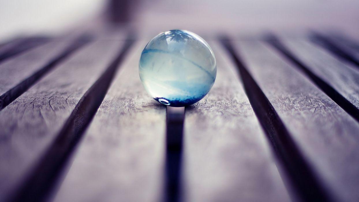 macro glass balls wallpaper