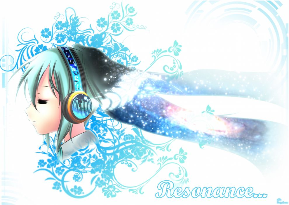 Vocaloid Hatsune Miku anime manga Resonance of Fate wallpaper
