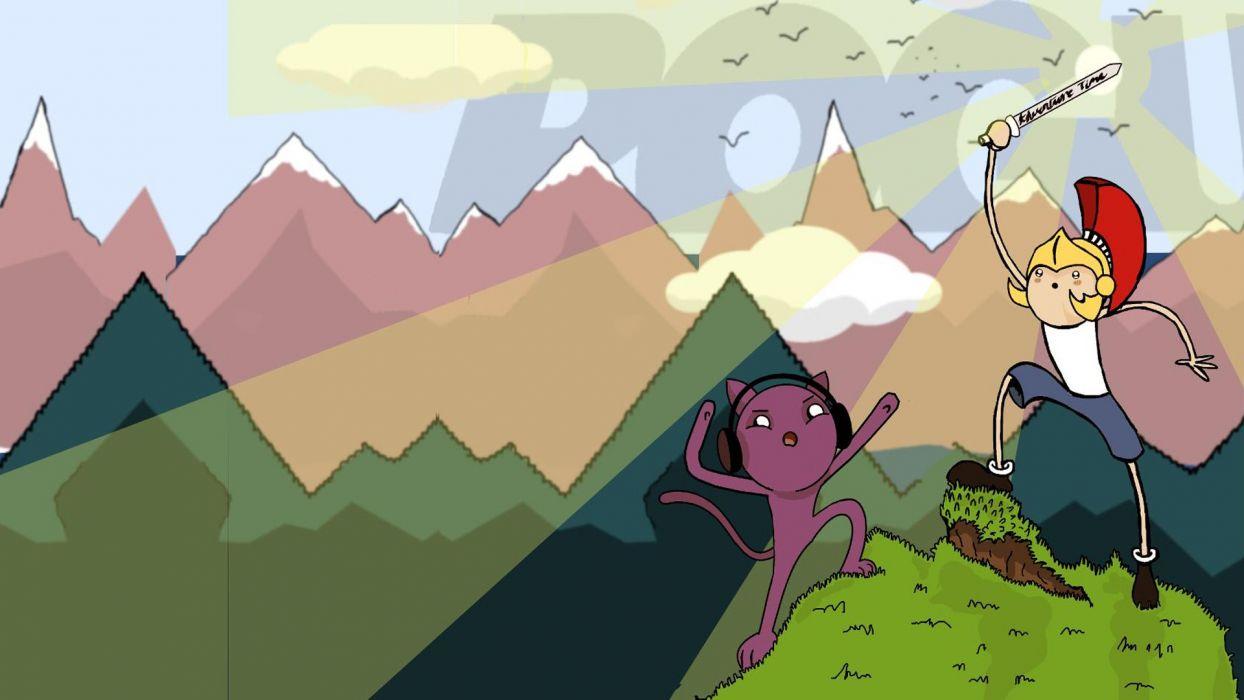 cartoons Adventure Time Rogue artwork Monstercat wallpaper