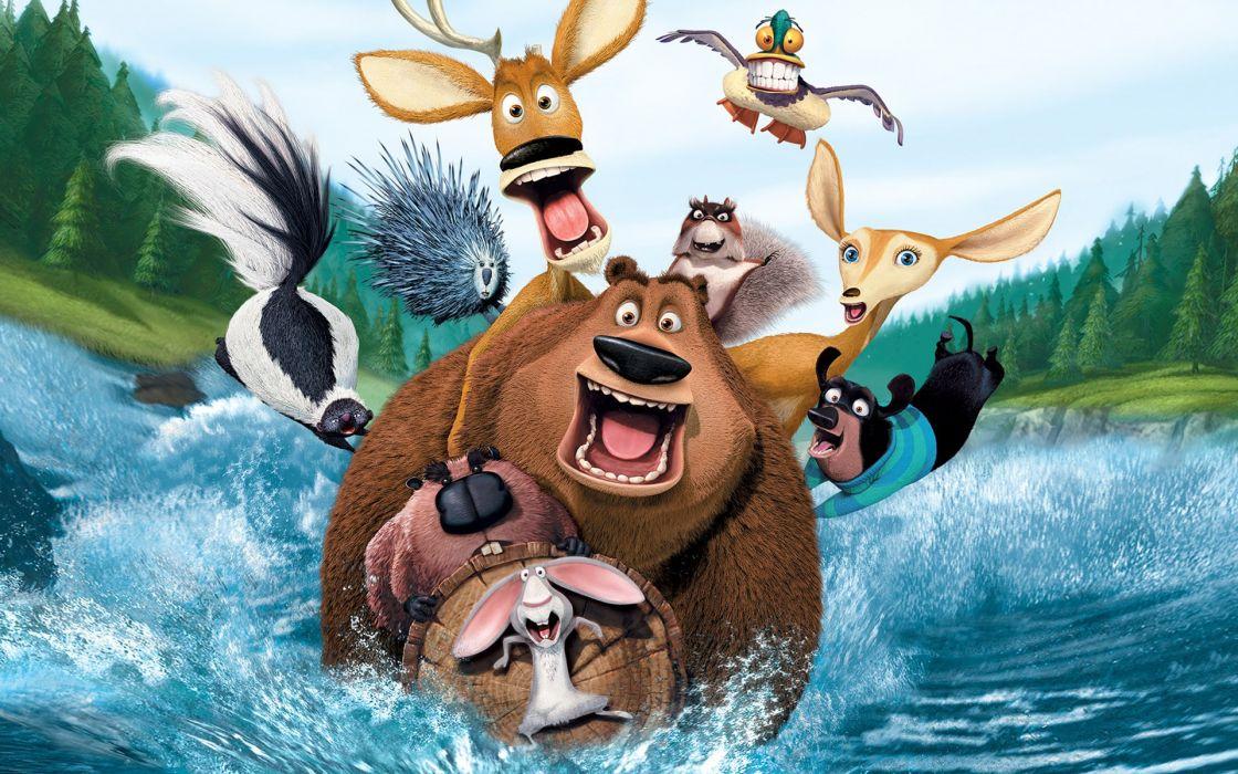 cartoons Open Season (movie) wallpaper