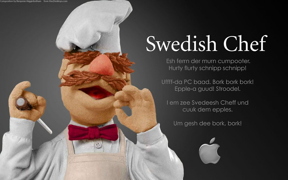 Apple Inc_ muppet wallpaper