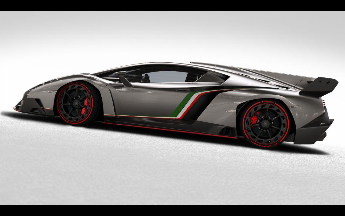 cars studio Lamborghini Veneno wallpaper