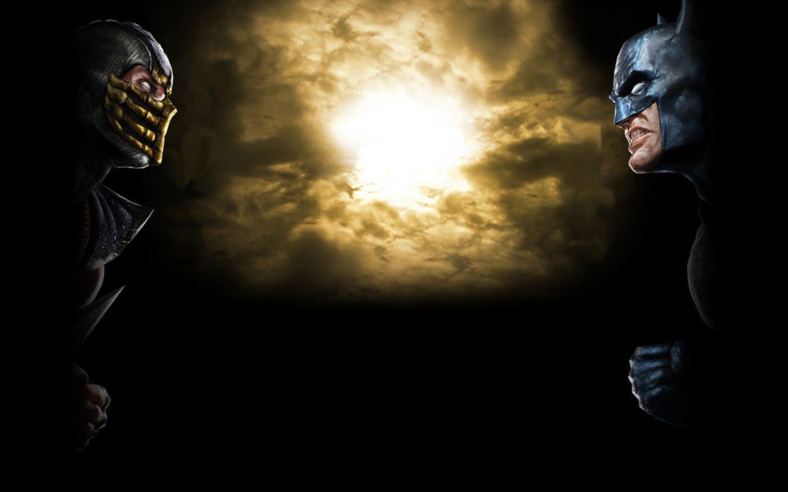 Batman Mortal Kombat wallpaper