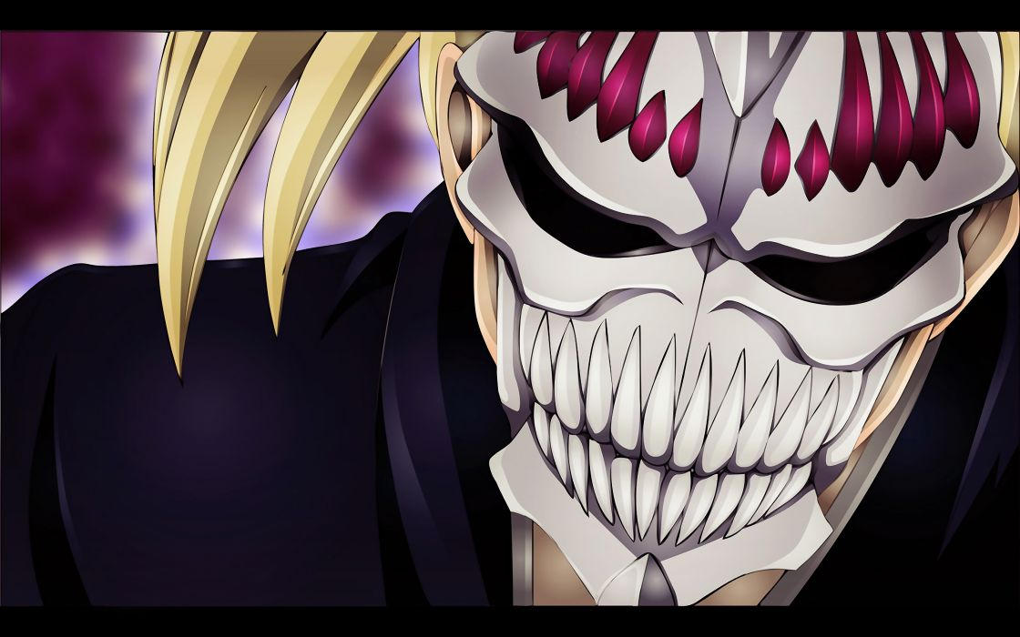Bleach Vizard hollow mask Sarugaki Hiyori wallpaper