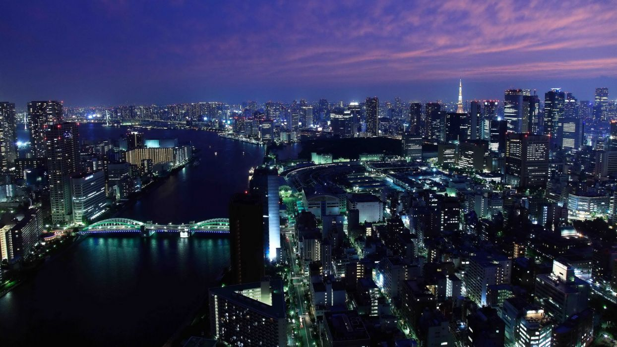 Japan Tokyo cityscapes skylines buildings skyscrapers Asians Asia Asian architecture city skyline citylife wallpaper