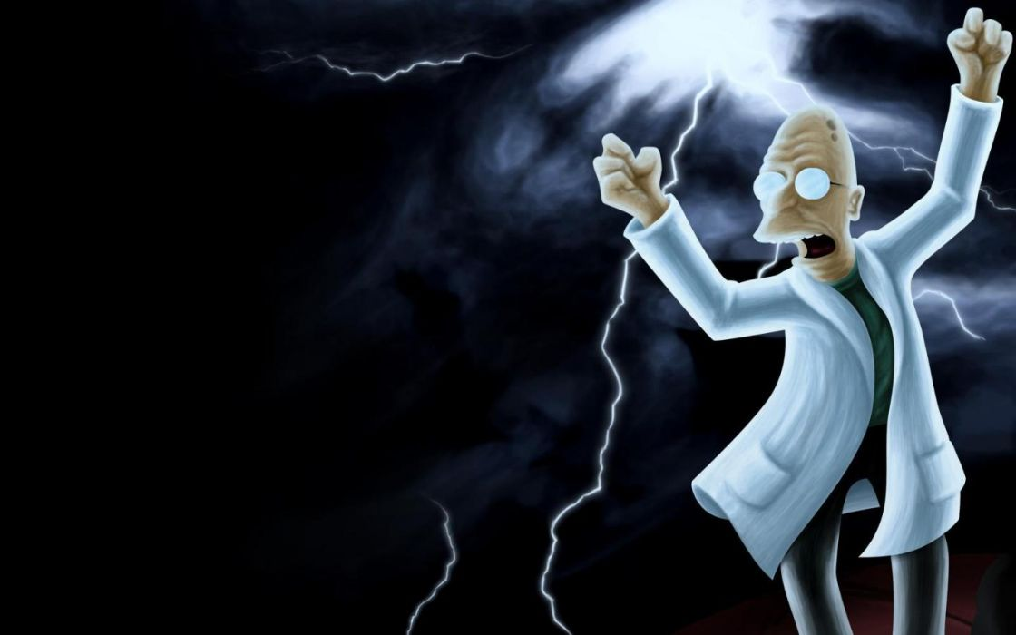 Futurama Professor Farnsworth wallpaper