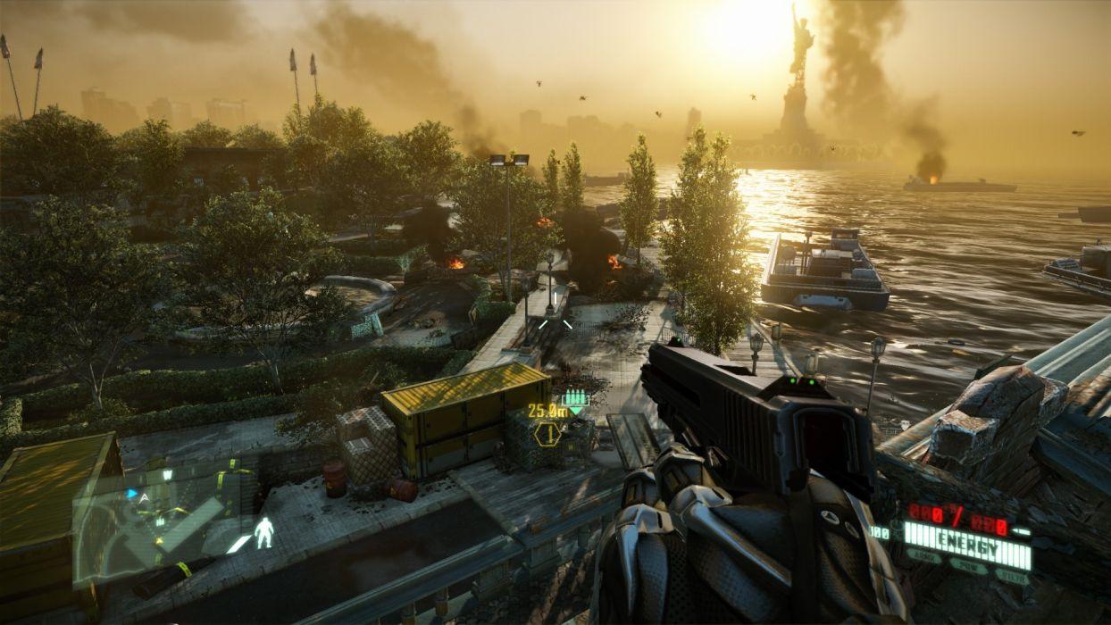 screenshots Crysis 2 wallpaper