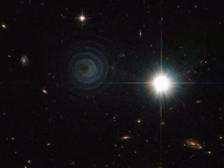 outer space galaxies Hubble Deep Field Image wallpaper