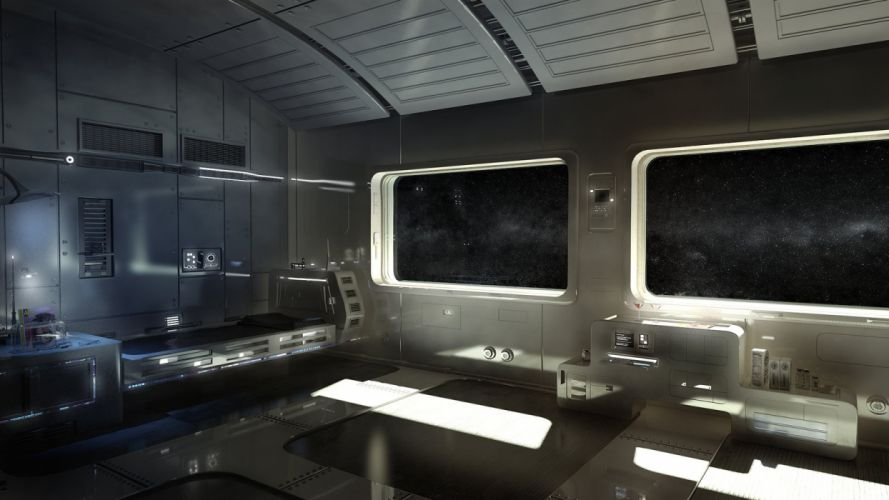 outer space futuristic science fiction space suite wallpaper