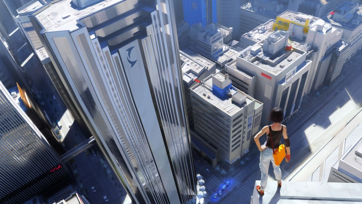 video games Mirrors Edge parkour freerunning wallpaper