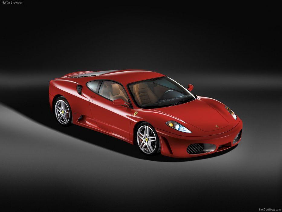 red cars Ferrari F430 wallpaper