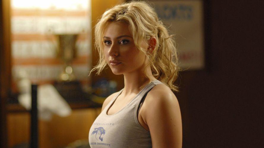 blondes women actress celebrity singers Alyson Michalka Hellcats wallpaper