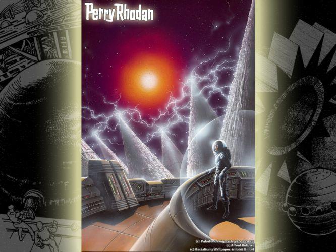 Perry Rhodan science fiction wallpaper