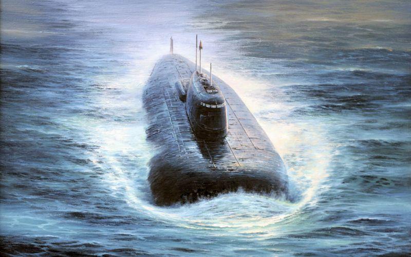 water submarine wallpaper