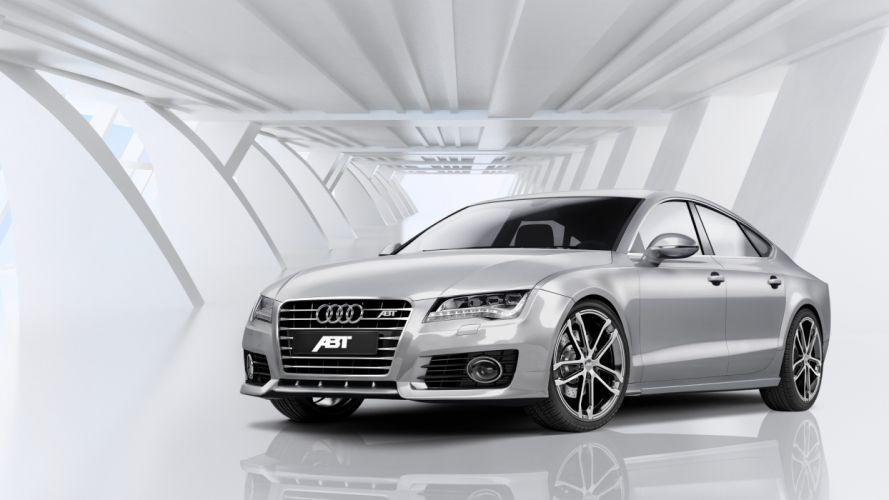 cars vehicles ABT Audi A7 German cars wallpaper
