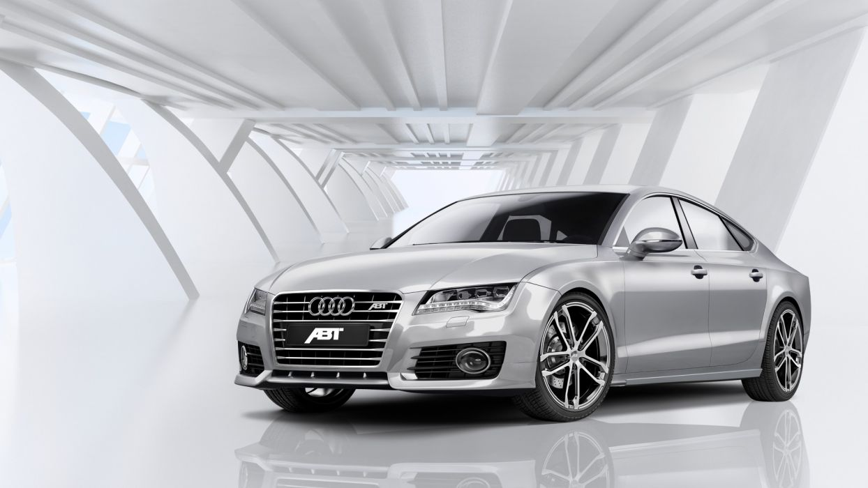 cars vehicles ABT Audi A7 German cars wallpaper