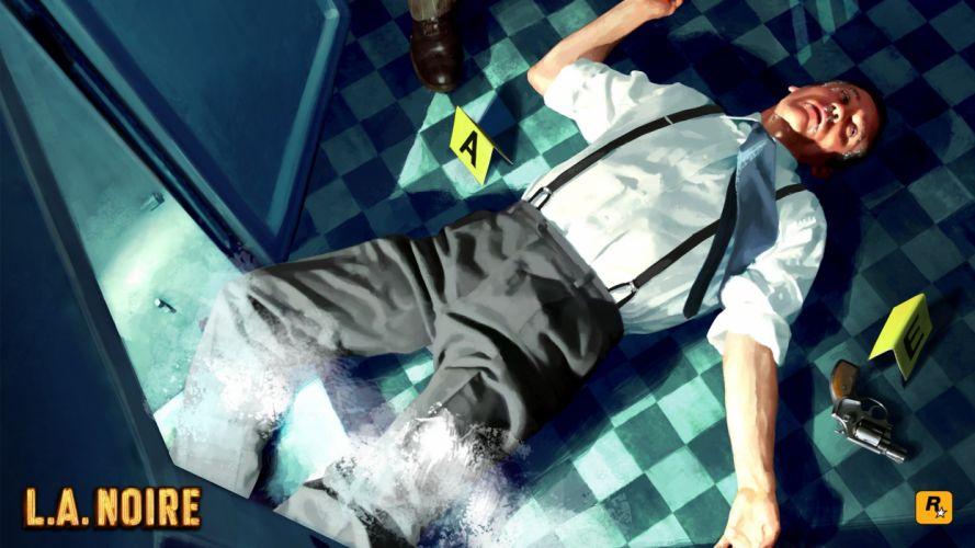 Rockstar Games L_A Noire wallpaper
