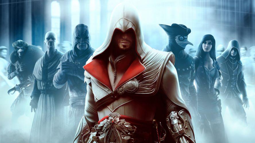 Assassins Creed brotherhood Ezio Auditore da Firenze wallpaper