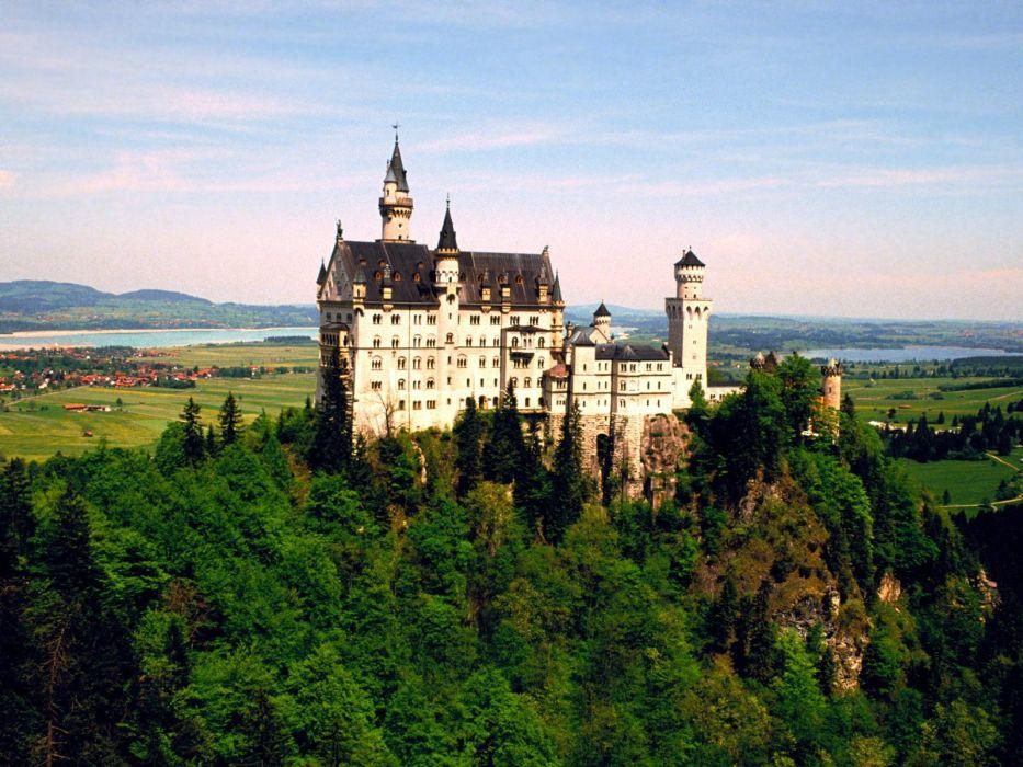 Germany valleys jewel Neuschwanstein Castle wallpaper