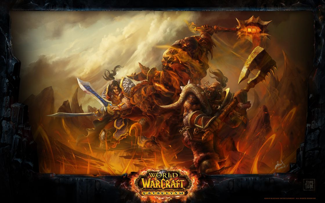 video games World of Warcraft: Cataclysm wallpaper
