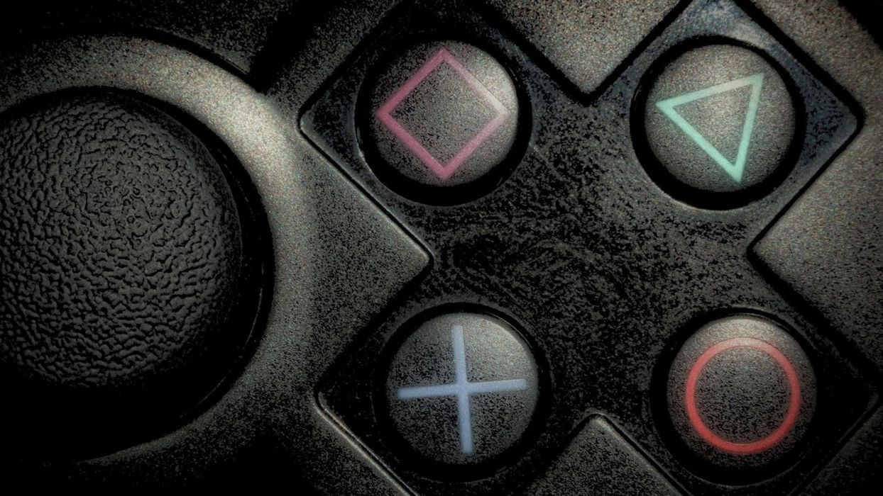 video games PlayStation buttons controllers Playstation 2 wallpaper