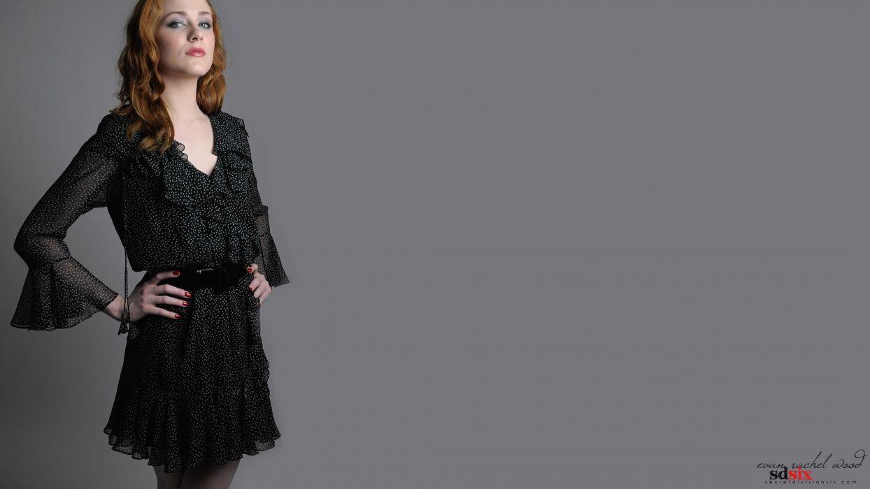 women models Evan Rachel Wood wallpaper