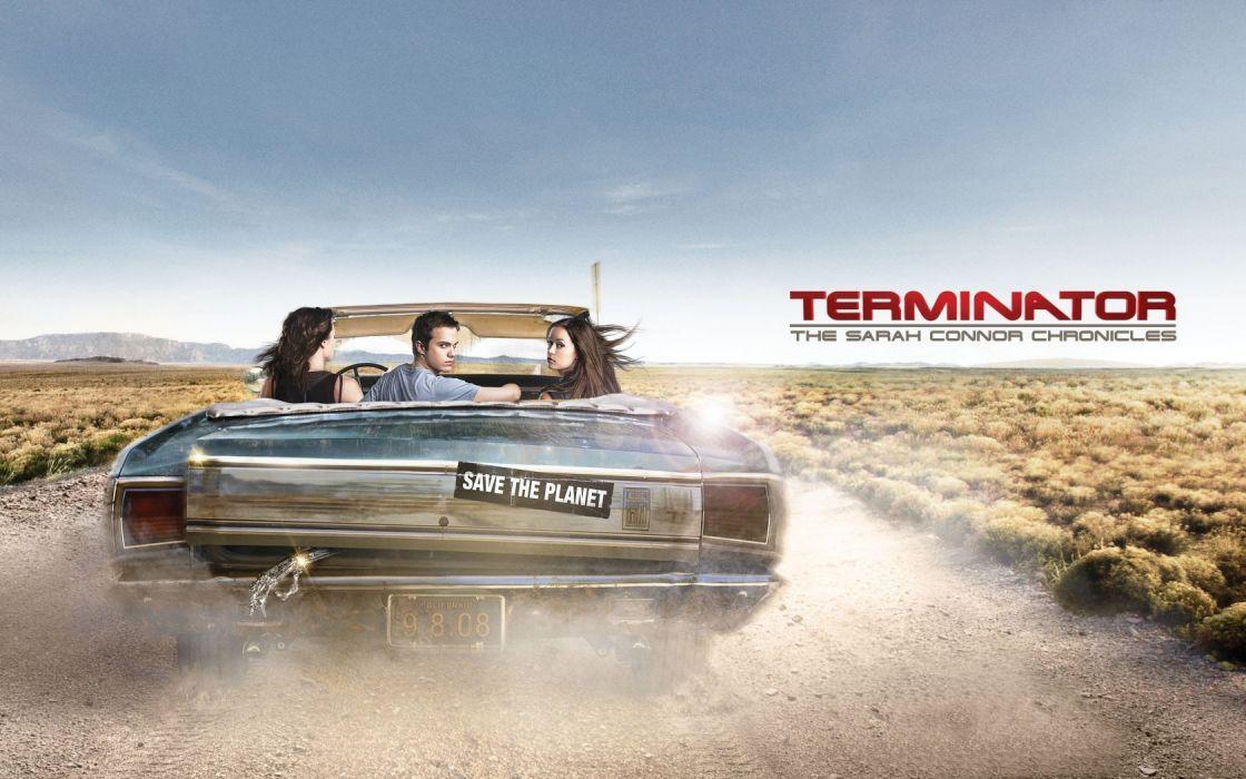 Summer Glau Lena Headey Terminator The Sarah Connor Chronicles wallpaper