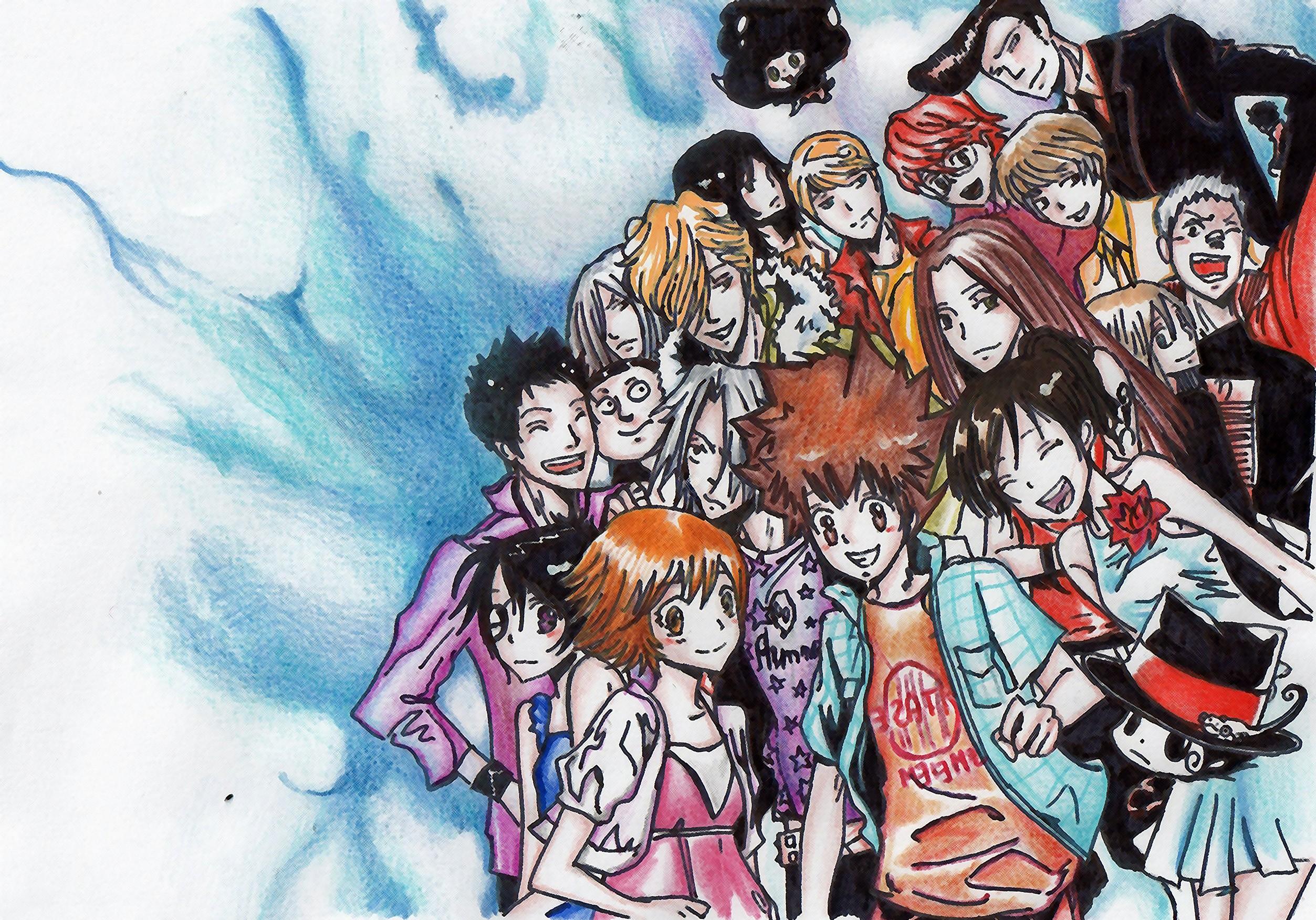 Katekyo Hitman Reborn Eyes Groups Reborn Yamamoto Takeshi Hibari