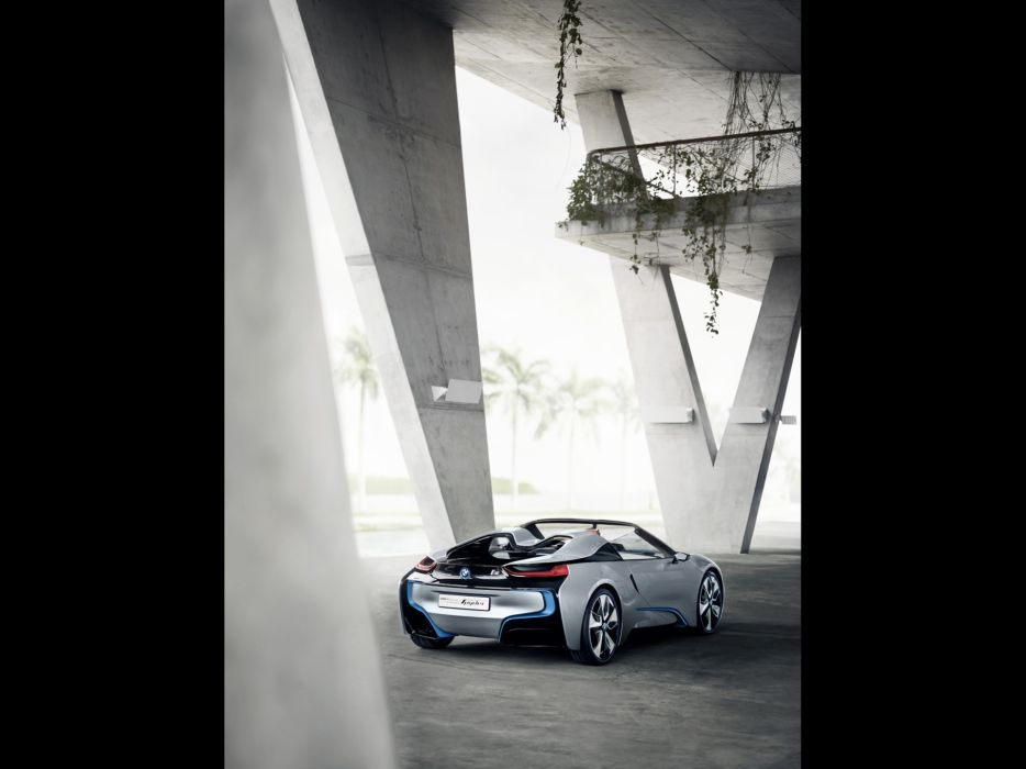 spyder BMW i8 concept wallpaper