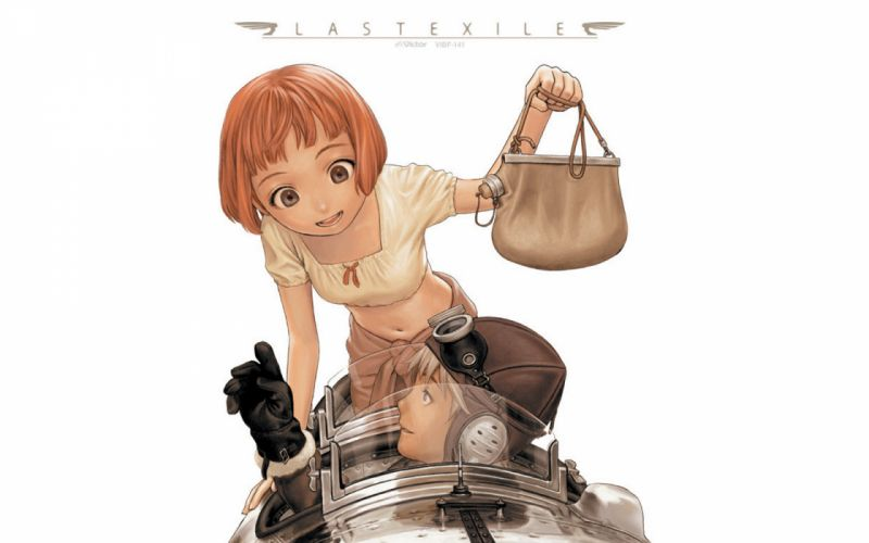 Range Murata Last Exile Lavie Head Claus Valca soft shading simple background wallpaper