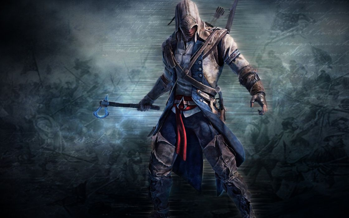 Assassins Creed Assassins Creed 3 Connor Kenway wallpaper