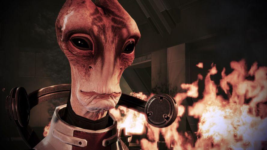 Mass Effect 3 Tuchanka wallpaper