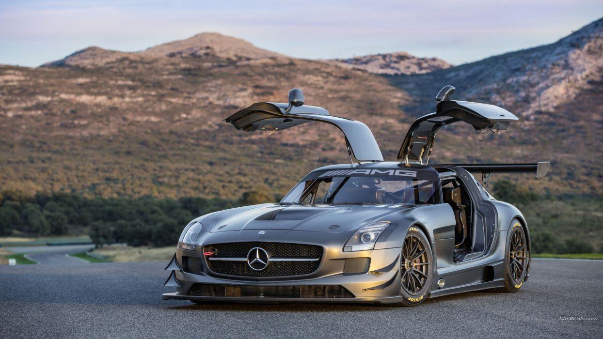 gt3 Mercedes SLS wallpaper