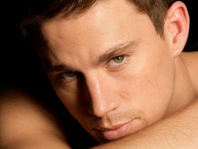 men green eyes faces Channing Tatum wallpaper