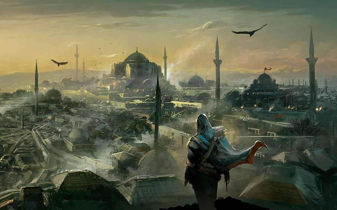 Assassins Creed Altair Ibn La Ahad Artwork Wallpaper 1920x1200