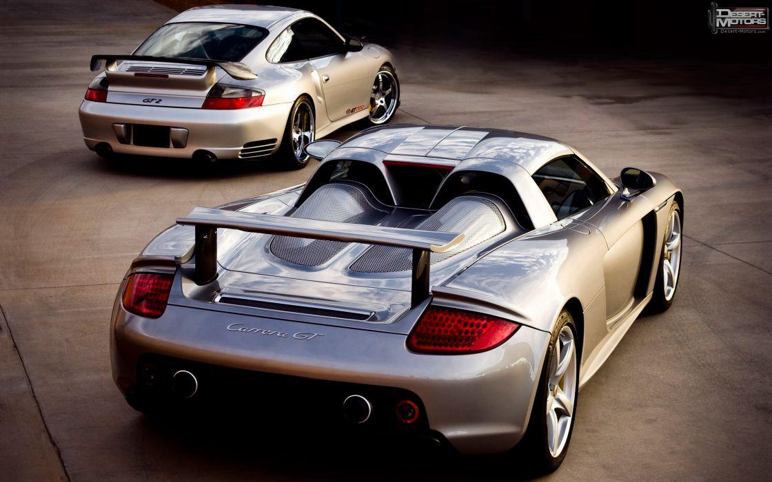 cars sports vehicles Porsche Carrera GT Porsche 911 GT2 Porsche 911 (996) GT2 wallpaper