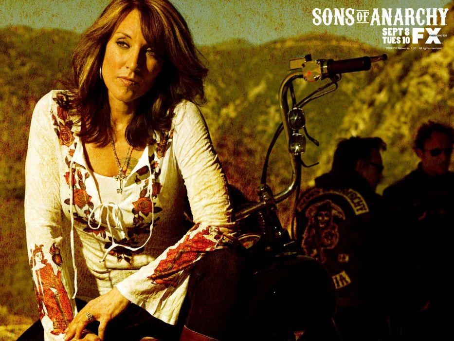 Sons Of Anarchy Katey Sagal TV series wallpaper