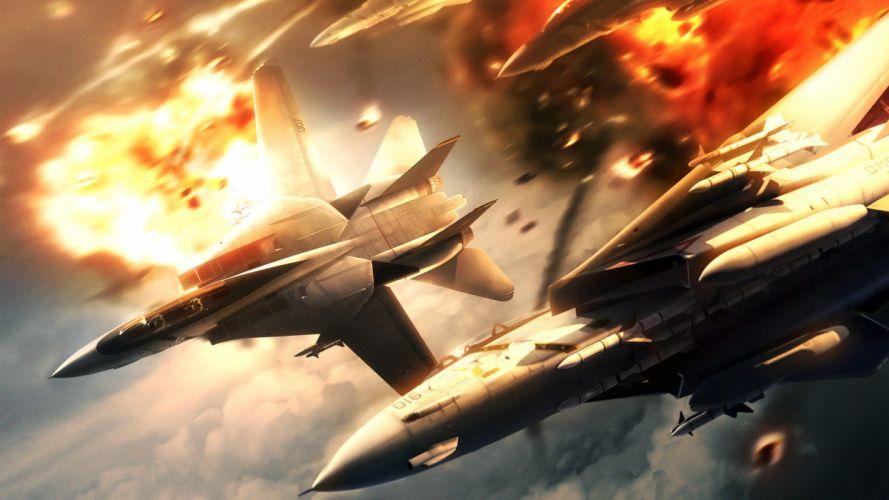 aircraft explosions wallpaper