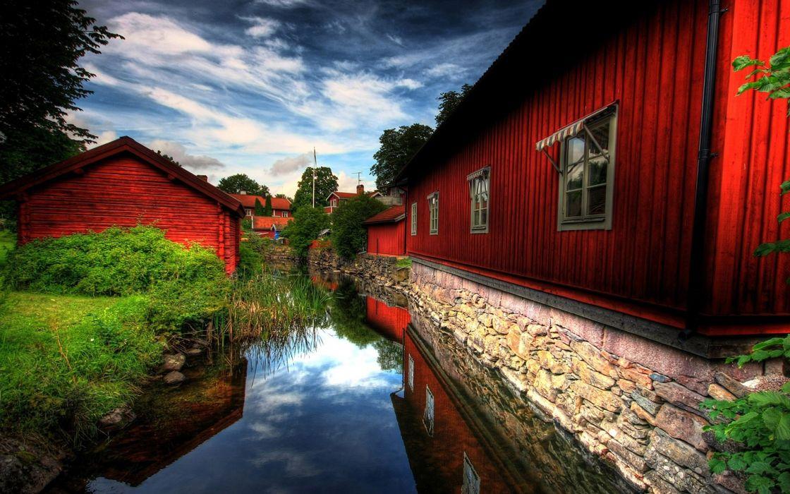 house creek wallpaper