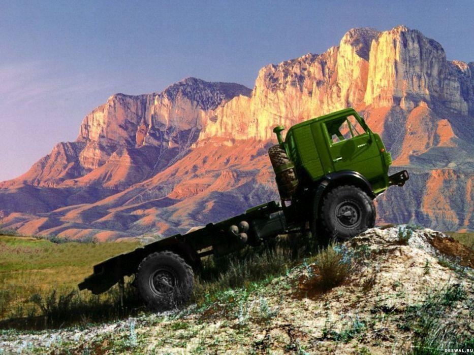 trucks kamaz wallpaper
