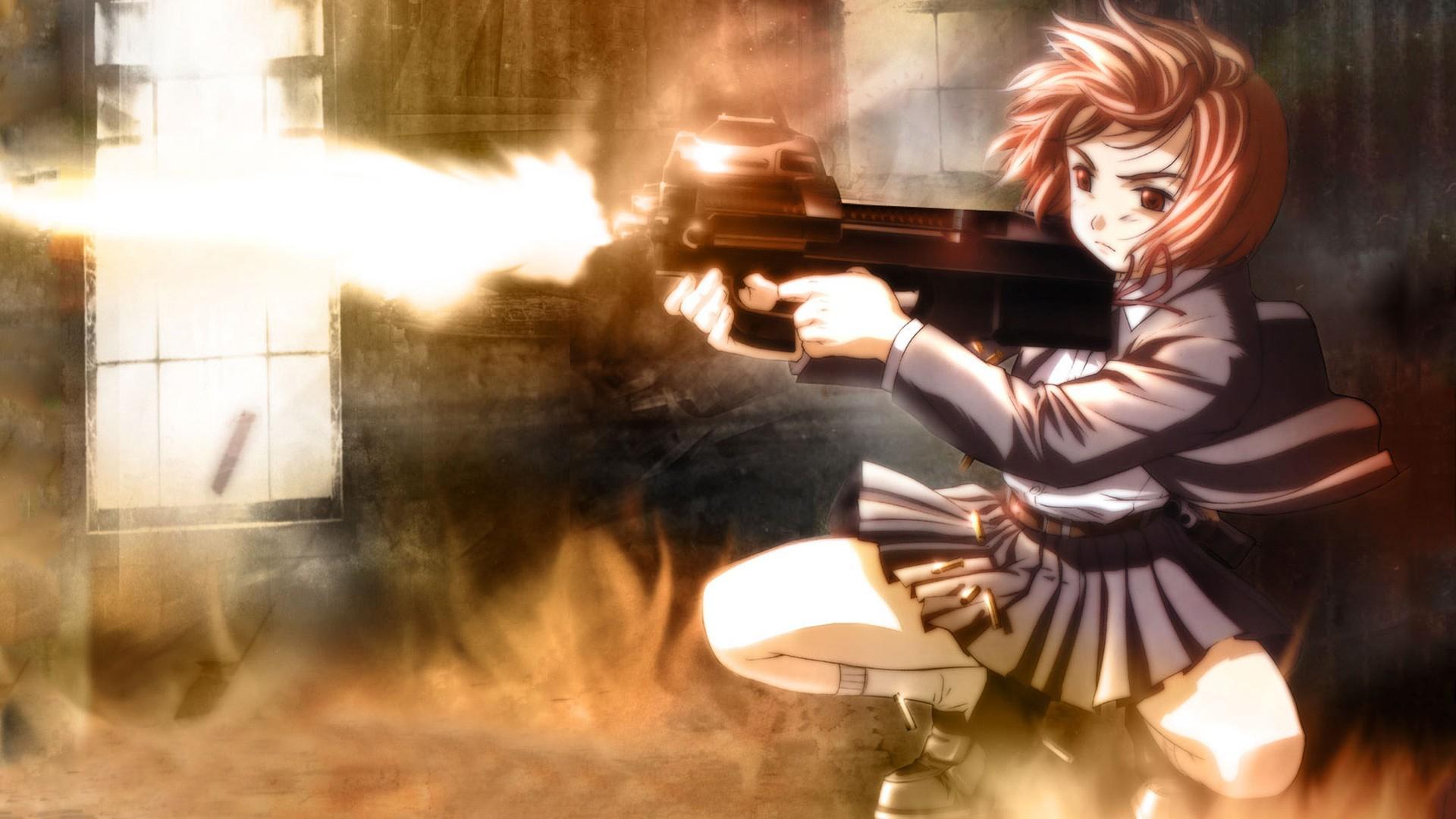 Angels Gunslinger Girl girls with guns anime anime girls ...