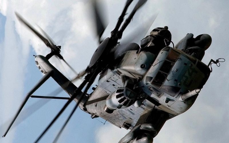 aircraft helicopters MH-53 Pave Low air airforce skies wallpaper
