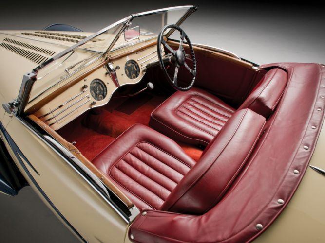 1937 Delahaye 135 M Cabriolet Figoni Falaschi retro supercar interior g wallpaper
