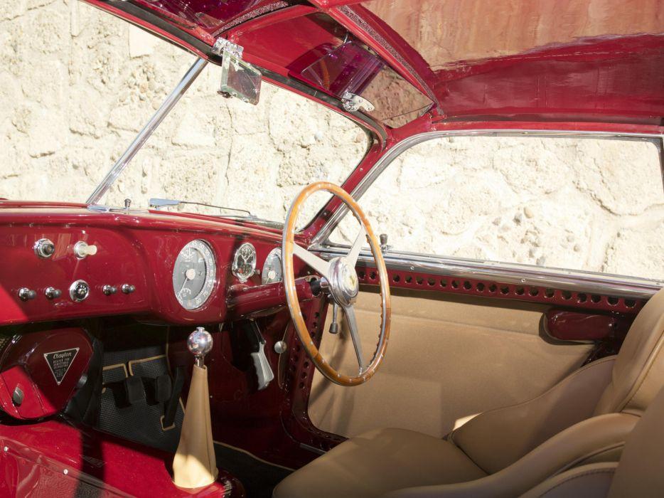 1951 Ferrari 212 Export Berlinetta supercar interior      f wallpaper