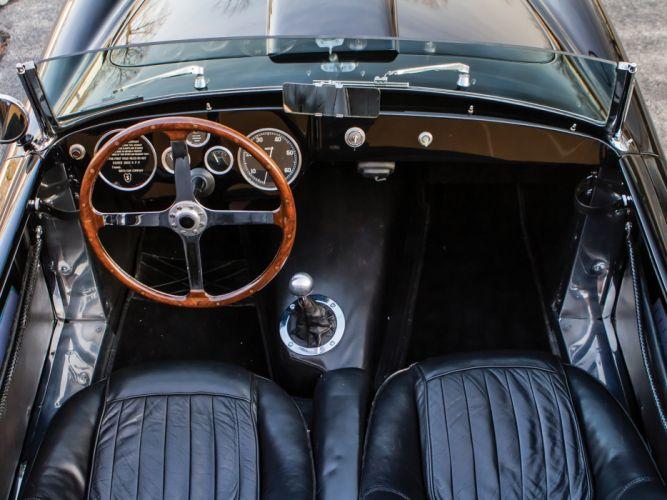 1953 Siata 208S Barchetta retro supercar interior h wallpaper