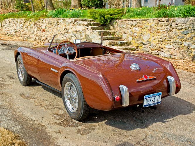 1953 Siata 208S Barchetta retro supercar hd wallpaper